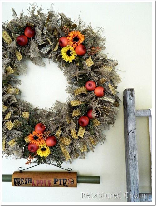 Autumn Kitchen Wreath 066b