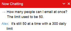 max emails