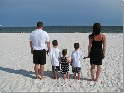 Orange Beach, Alabama beach family photo