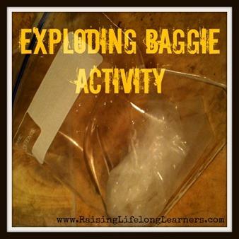 exploding baggie
