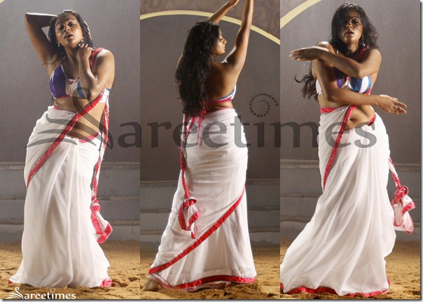 Priyamani_Hot_White_saree