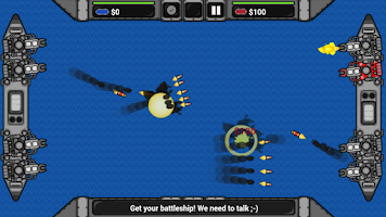 Screenshot of Bombardment - Battleship Duell