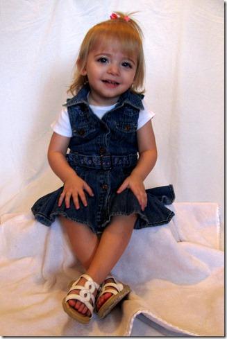 Elaine 22 Month Portraits