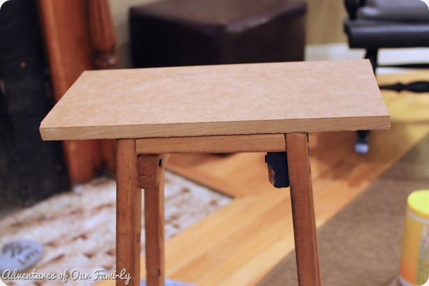mdf stool cover