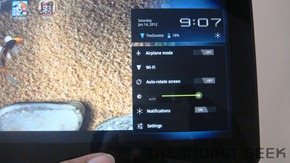 Sony Tablet S - Connectivity 2