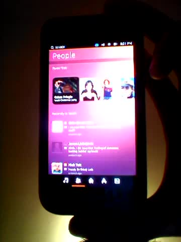 Ubuntu Phone OS su Samsung Galaxy S