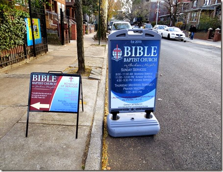 Bible Baptist Church Jackson Heights