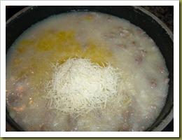 Risotto con salsiccia e cipollotto di Tropea (3)