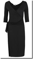 LK Bennett black jersey dress