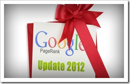 Google PageRank-Update-2012