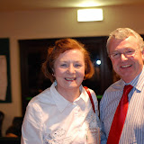 Joan Grennan with Padraig Hackett