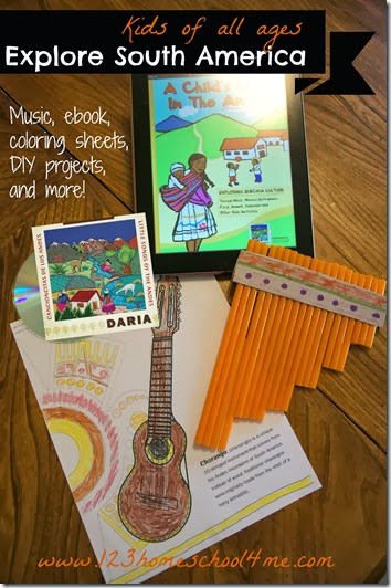 Kids explore South America with Daria's Cancioncitas de Los Andes