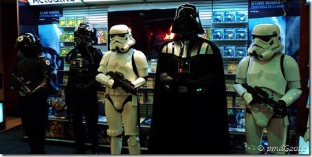 Sur les Champs, Star Wars