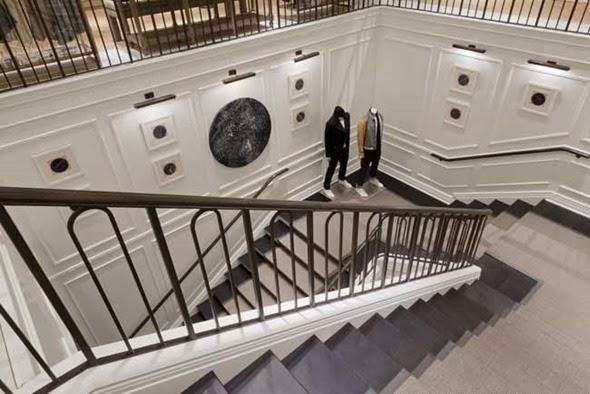club monaco stairs