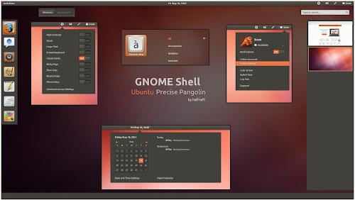 GNOME-Shell - Ubuntu Precise Pangolin