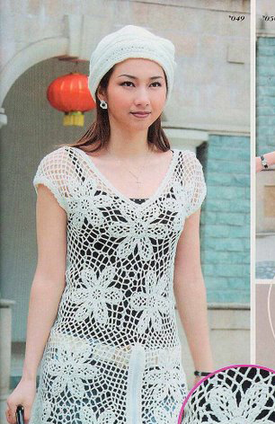 REVISTA JAPONESA CROCHET SWEATER