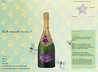 Vranken Demoiselle champagne   damselflies