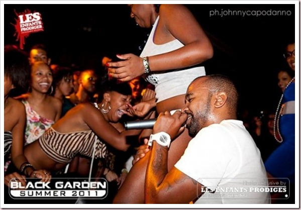 black garden 2012 - kizomba romana