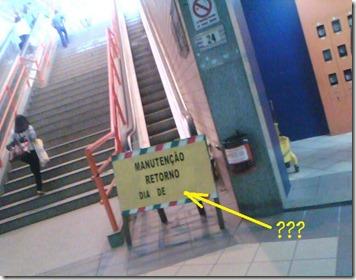 Escada terminal
