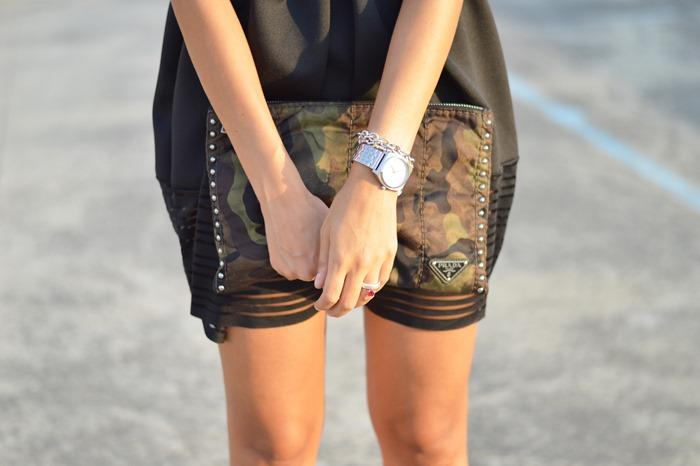 Black dress, little black dress, ceremony dress, wedding dress, valentino shoes, rockstud valentino, prada bag, prada clutch, prada camouflage bag, fashion, fashion blogger, italian fashion blogger, fashion blogger firenze, fashion blogger italiane