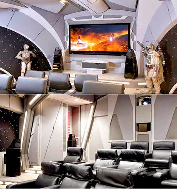 Epic Man Cave Tv Show : Checkout these amazing man caves from superman batman