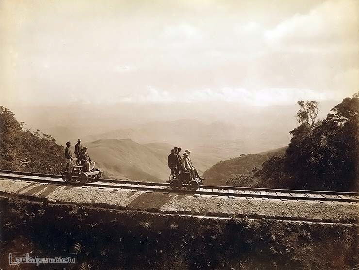 Sri Lanka : Railway line construction in Ceylon in 18th century