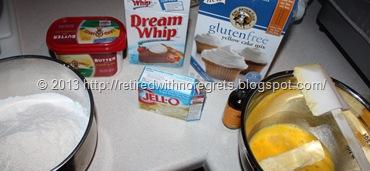 Cathy's My Favorite Coffee Cake - ingredients