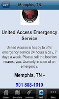 Screenshot of United Access