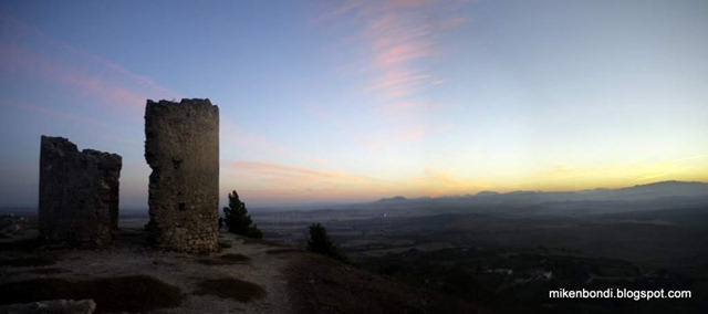 sunrise over Medina-Sidonia