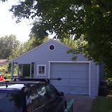 Painted Garage