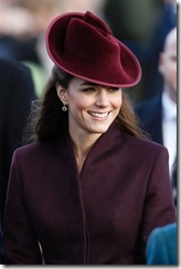 673558-kate-middleton pic AP; Christmas service at St Marys church in the grounds of Sandringham Estate
