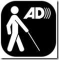 logotipo da audiodescrição da BETESDA