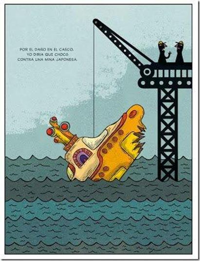 Montt - Submarino amarelo
