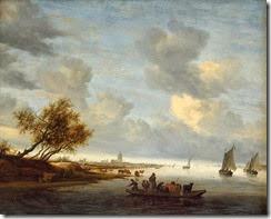 748px-Salomon_van_Ruysdael_-_A_Ferry_Boat_near_Arnheim_-_WGA20576