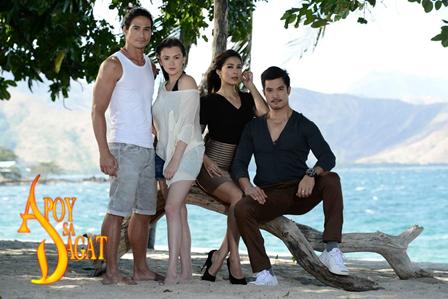 Apoy Sa Dagat main cast
