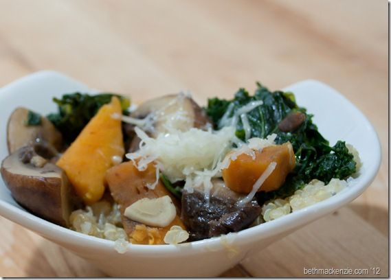 kale Quinoa Mushrooms5