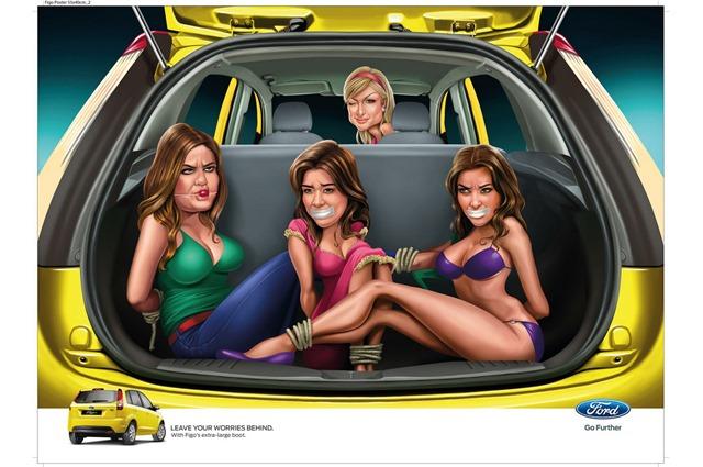 Ford-Figo-Print-Ad-Paris-Hilton