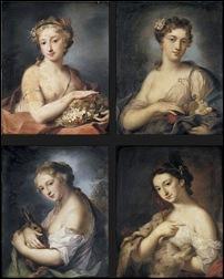 Rosalba Carriera, Les 4 saisons