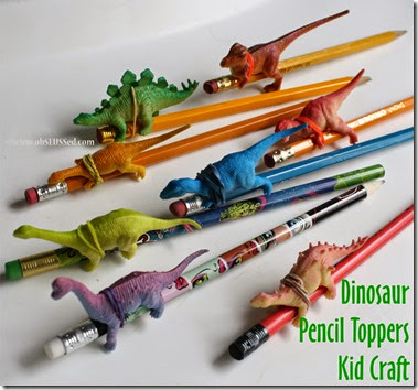Dinosar Pencil Craft_obSEUSSed_b