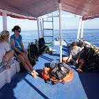Wir bereiten uns vor fürs Tauchen im Komodo Nationalpark