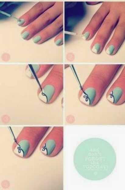 как делать красивые рисунки на ногти