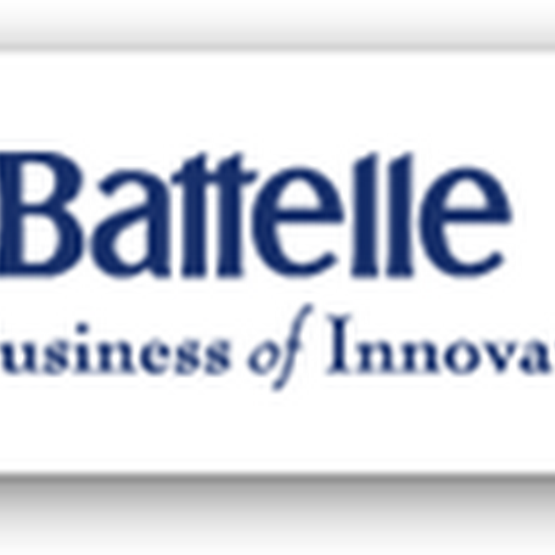 Battelle to Help CMS Improve Quality–Secures Four Year Contract From CMS To Build Some New Models Relative To Medicare Provider Performance and Payment…