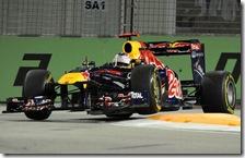 Vettel conquista la pole nel gran premio di Singapore 2011
