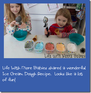 Ice Cream Dough Sensory Fun