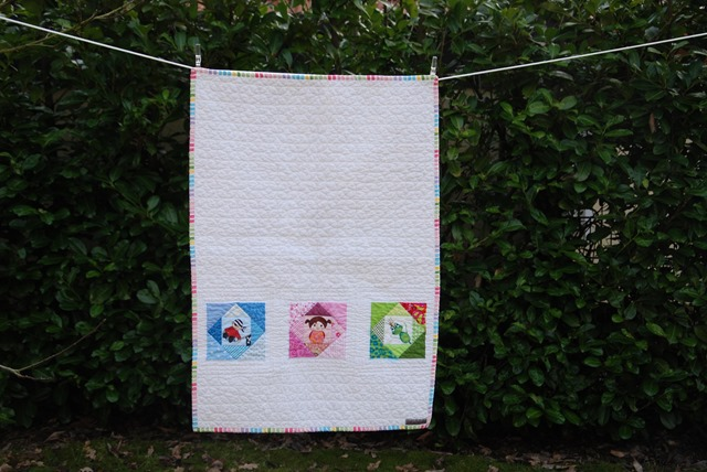 PP Baby Quilt outside