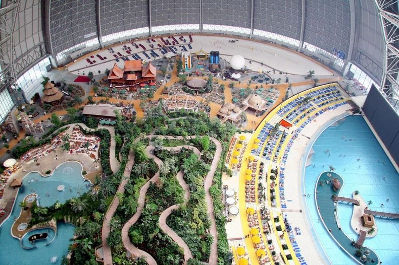 Tropical Island Resort   World s Largest Indoor Rainforest   Amusing
