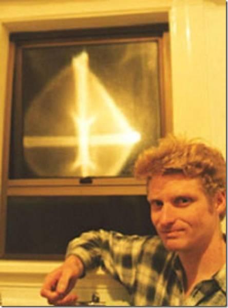 """Световые кресты"""" Новой Зеландии (3 фото)"""