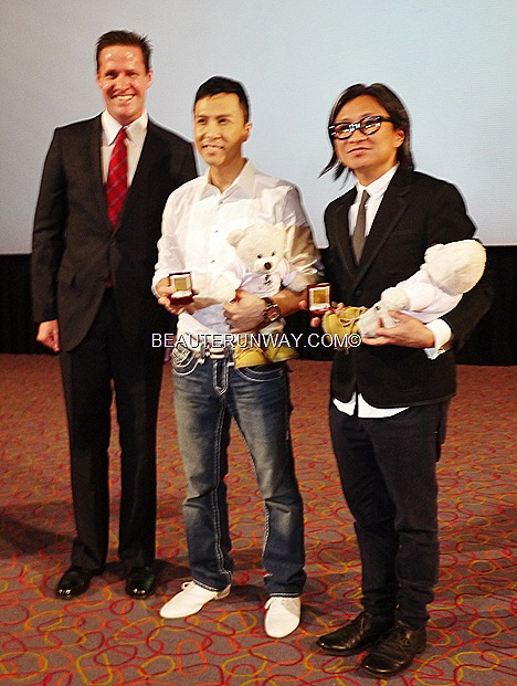 Donnie Yen WU XIA Singapore with Peter Chan for Gala Premiere at GV Vivocity