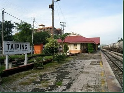 Taiping Railway Station.