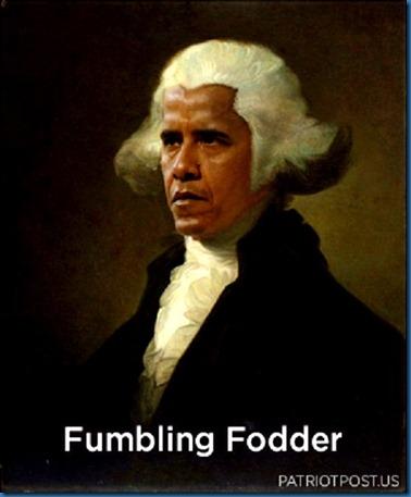 Fumbling Fodder - BHO 9-22-11